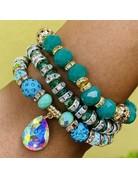 Minty Greens Bracelet Set