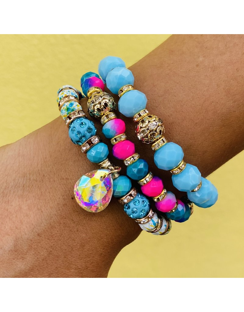 Blue Lagoon Bracelet Set