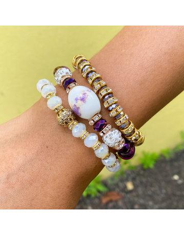 Purple Pleasure Bracelet Set