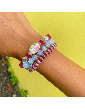 Pink Power  Bracelet Set