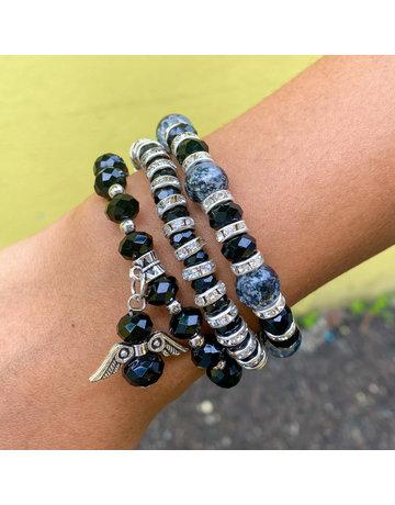 Grey Skies Bracelet Set