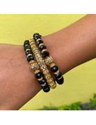 Black Goddess Bracelet Set