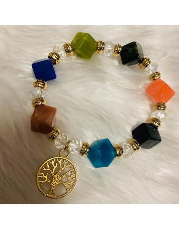 Mother Earth Beaded Bracelet