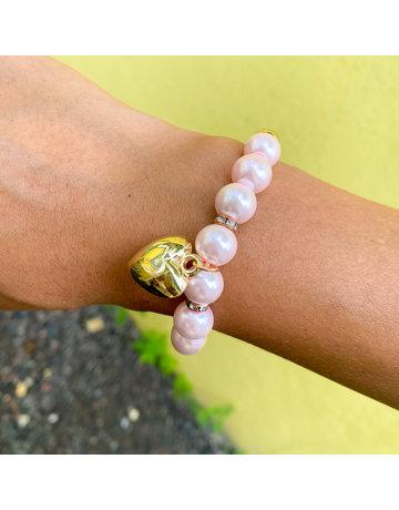 Heart Of Pearl Bracelet