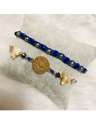 Dizzy Spell Friendship Bracelet - Royal Blue