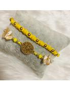Dizzy Spell Friendship Bracelet - Yellow