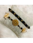 Dizzy Spell Friendship Bracelet - Black