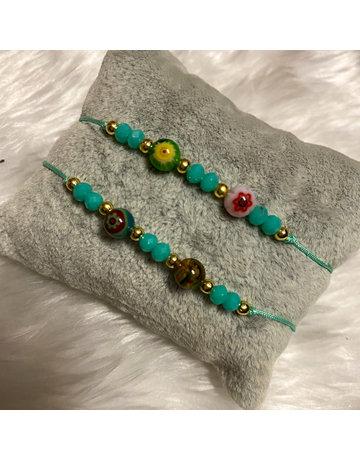That 70s Friendship Bracelet - Turquoise
