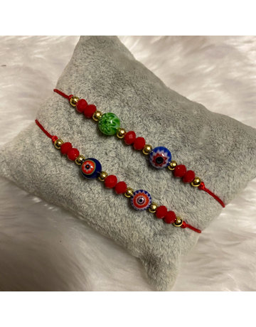 That 70s Friendship Bracelet - Red