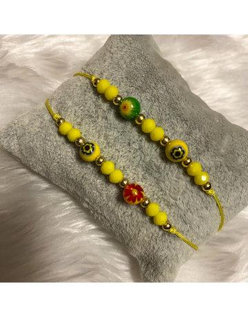 That 70s Friendship Bracelet - Yellow