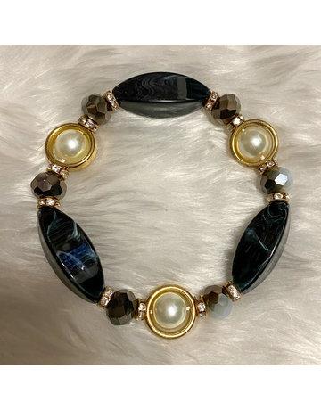Stone Age Bracelet - Black