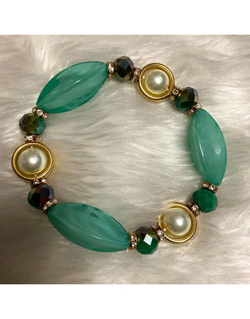 Stone Age Bracelet - Green