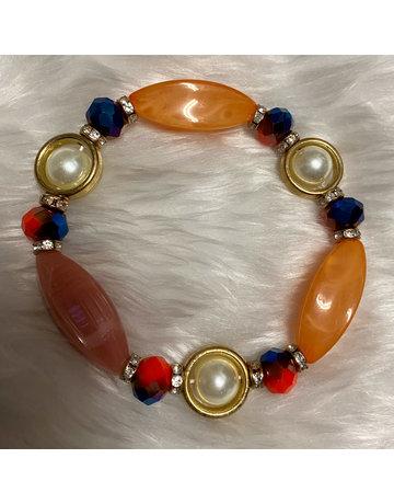 Stone Age Bracelet - Orange