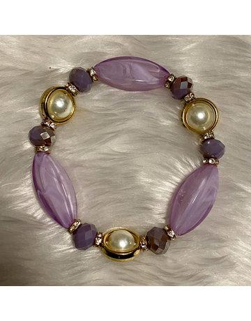 Stone Age Bracelet - Lavender