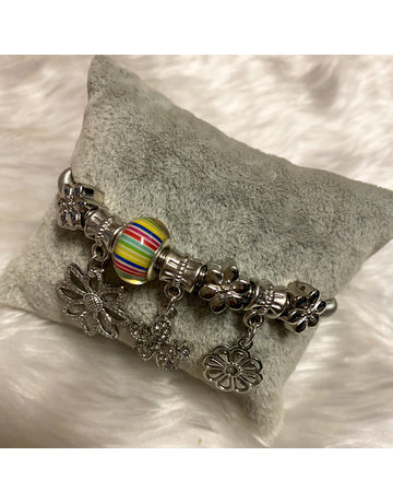Bloomed Bracelet - Silver