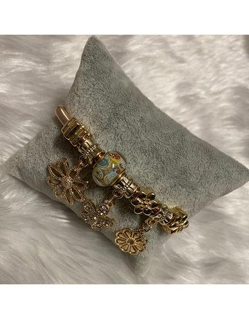 Bloomed Bracelet - Gold