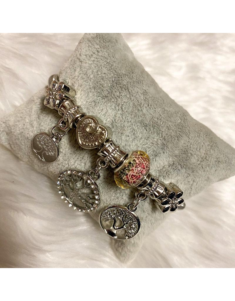 So Charming Bracelet - Silver