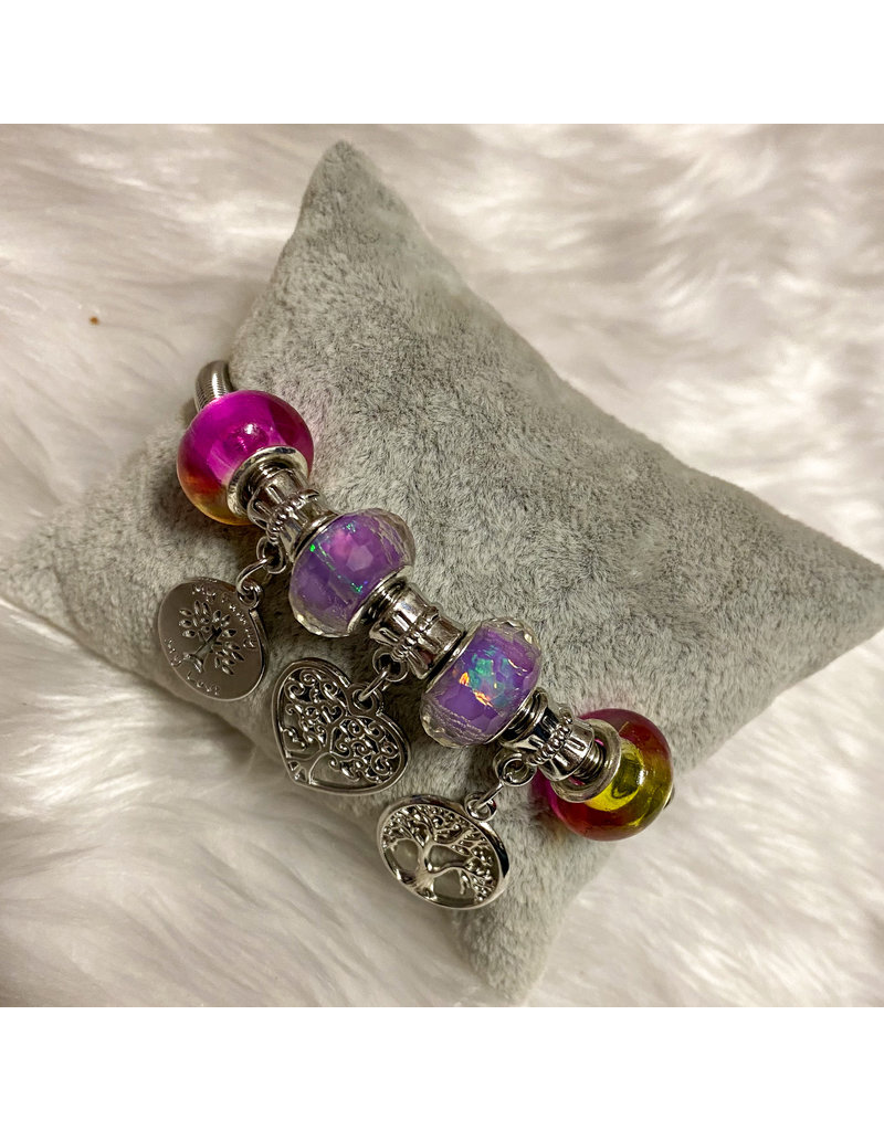 Heart Wishes Bracelet - Silver