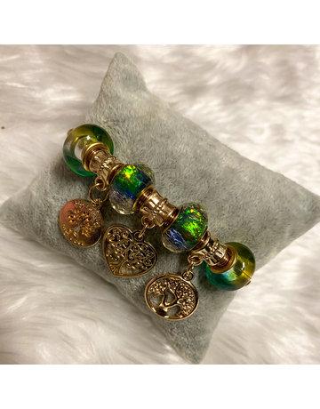 Heart Wishes Bracelet - Gold