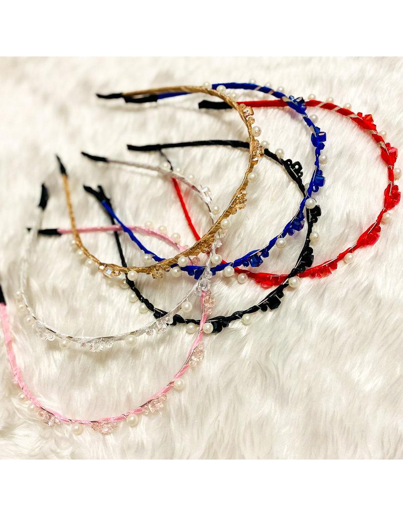 Pearl Bang Headband