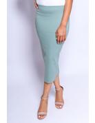 Sage Midi Pencil Skirt