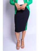 On Track Skirt Green