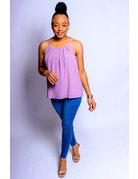 Lavender Folded Perfection Top