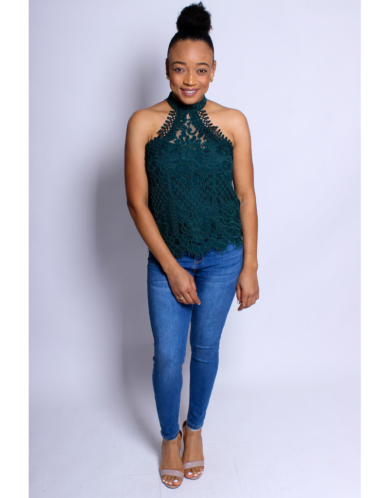 Work Of Art Lace Top