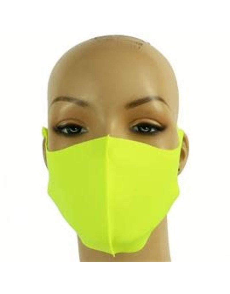 Easy Going Washable Mask - Neon Yellow