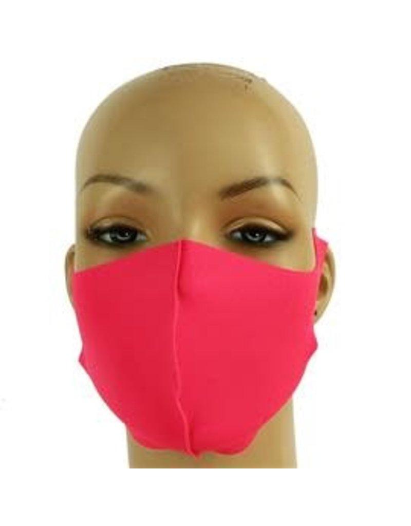 Easy Going Washable Mask -  Neon Fuschia