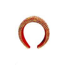 Hi Tide Crystal Headband - Red/Iridescent