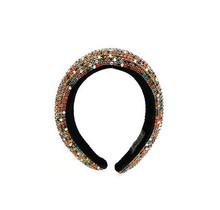 Hi Tide Crystal Headband - Black/Multi