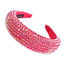 Hi Tide Crystal Headband - Fuschia Pink