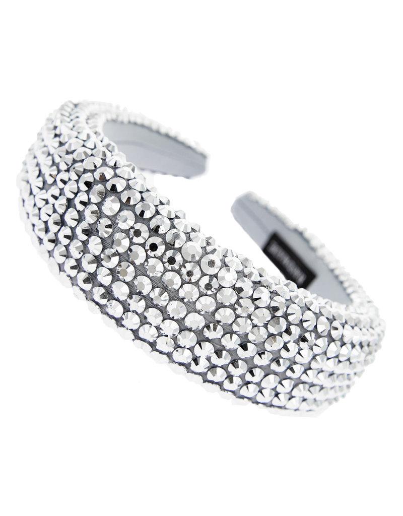 Hi Tide Crystal Headband - Silver