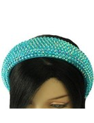 Hi Tide Crystal Headband - Aqua