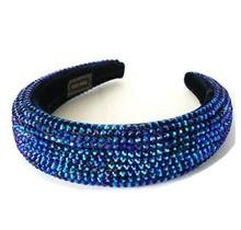 Hi Tide Crystal Headband - Royal Blue/Purple