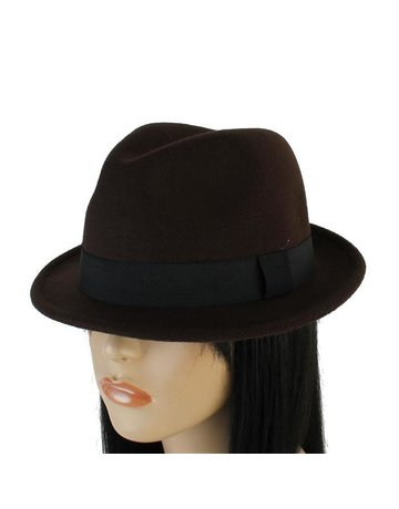 Hide Out Brim Hat - Brown