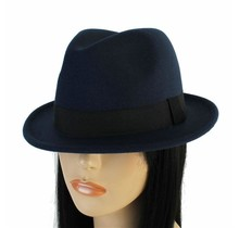 Hide Out Brim Hat - Navy