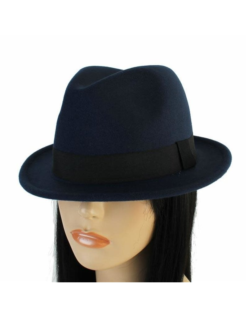 Hide Out Brim Hat - Navy