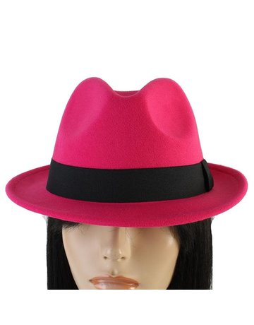 Hide Out Brim Hat - Fuchsia