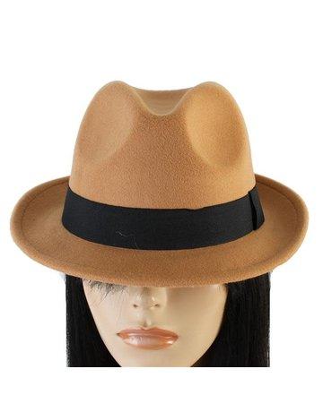 Hide Out Brim Hat - Light Brown