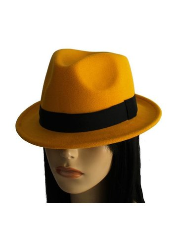 Hide Out Brim Hat - Yellow