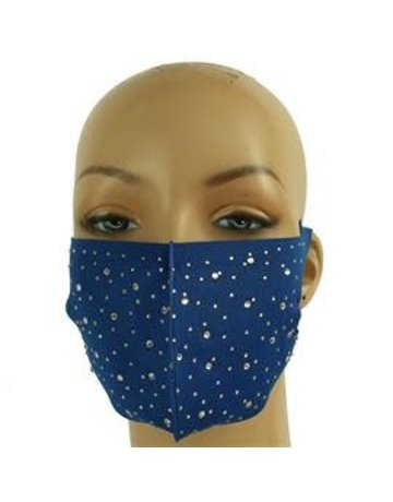 Totally Stoned Mask - Royal Blue