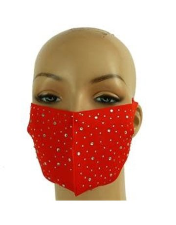 Totally Stoned Mask - Red