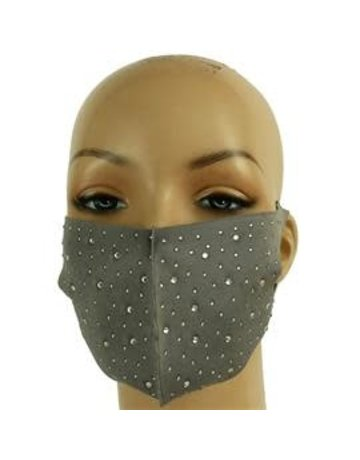 Totally Stoned Mask - Grey