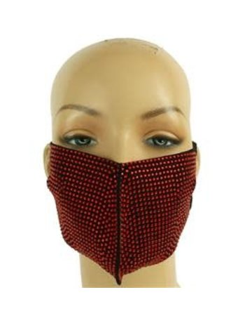 Stone Cold Mask - Red