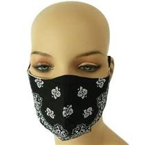 Extra Care Paisley Mask - Black