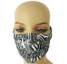 Geo Maze Mask - Black