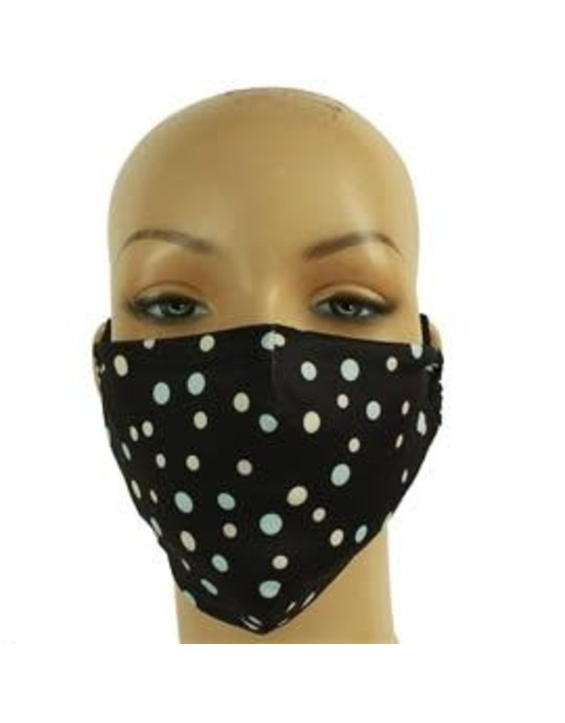 Dots of Caution Mask