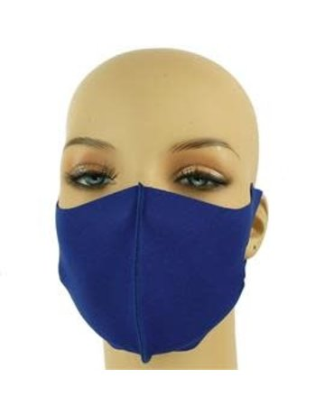 Easy Going Washable Mask - Royal Blue